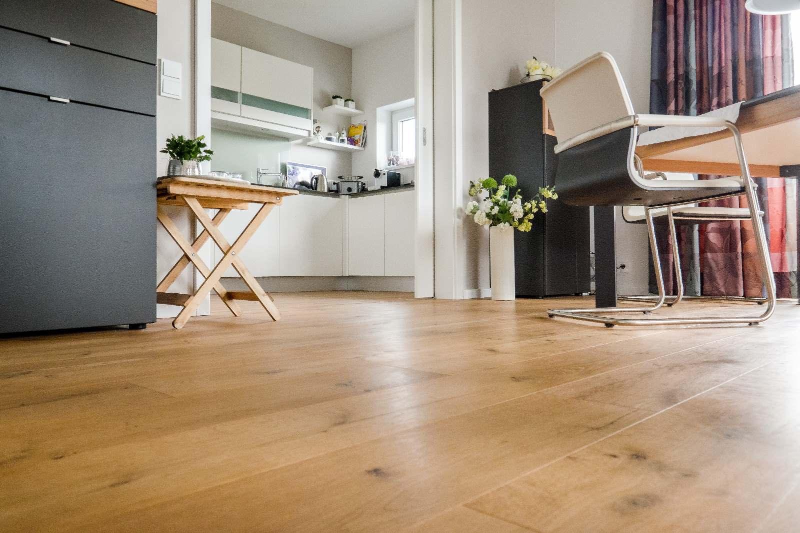 Landhausdiele Im Wohnbereich Und Küche